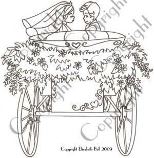 E104 wedding carriage