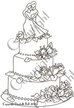 110 wedding cake