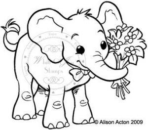 Fred celebrating elephant