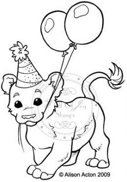 Leon celebrating lion