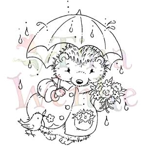 WDS 110-Hedgehog with Umbrella