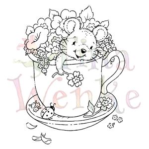 WDS 541-Mouse in Tea Cup